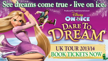 Win a family ticket to Disney On Ice presents Dare to Dream and be part of the show!