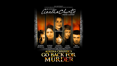 The Agatha Christie Theatre Company presents the  Queen of crime's classic Go Back for Murder