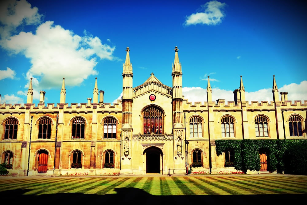 Cambridge University Drama Scene