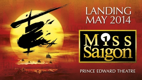 Miss Saigon - Valentine's Day Gifts -  ATG Tickets