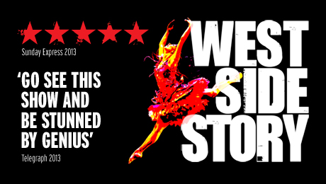 Exclusive indulgence packages for West Side Story bookers at New Wimbledon Theatre