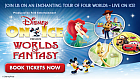 Win a family ticket to Disney On Ice presents Worlds of Fantasy and be part of the show!