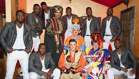New Wimbledon Theatre host successful press launch for Aladdin at Po Na Na, Wimbledon