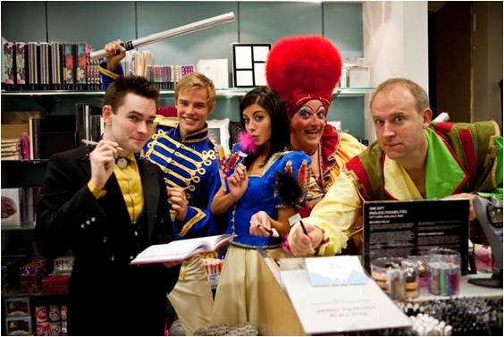 Behind the scenes at Richmond panto