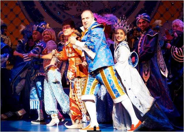Richmond panto, Aladdin, 2012