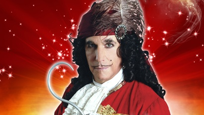 Henry Winkler as Captain Hook in Peter Pan the panto at Richmond Theatre