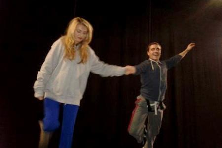 Behind the scenes at Aylesbury Waterside panto