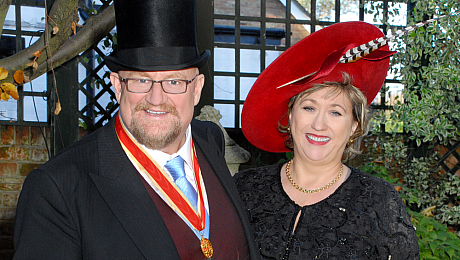 ATG's Sir Howard Panter honoured at Investiture Ceremony at Windsor Castle