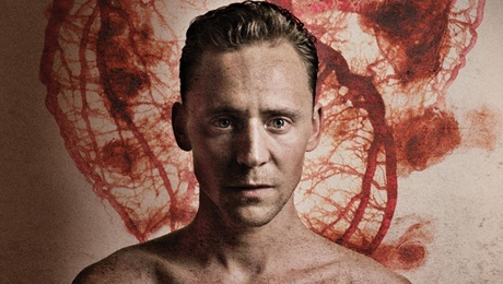 Tom Hiddleston in Coriolanus at the Donmar Warehouse