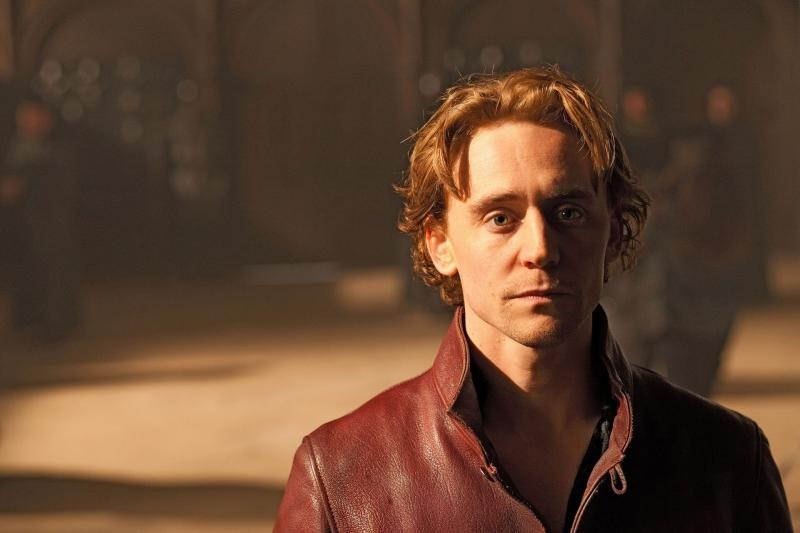 Tom Hiddleston as Prince Hal in The Hollow Crown