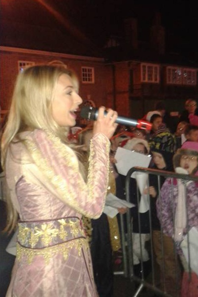 Holly Brewer from Sleeping Beauty in Aylesbury