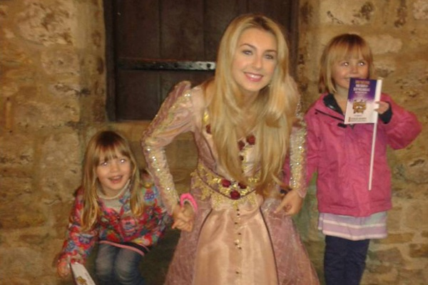 Holly Brewer meets some fans in Aylesbury