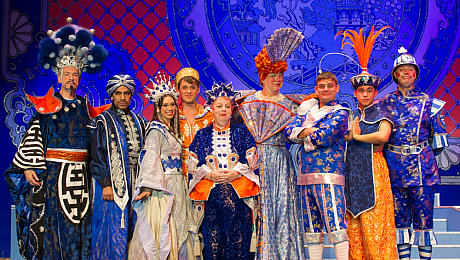 'Totally Irresistible'  New Wimbledon Theatre's panto  Aladdin is a certified hit!