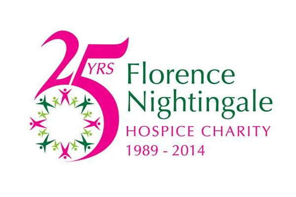 Anita Dobson at Florence Nightingale Hospice, Aylesbury