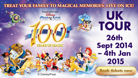 Win a family ticket to Disney On Ice Celebrates 100 Years of Magic and be part of the show!