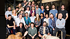 Full cast assemble for Shakespeare in Love rehearsals