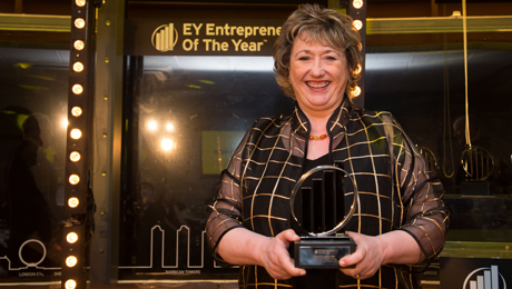 Rosemary Squire named the Ey Master Entrepreneur Of The Year 2014 in the London South Region