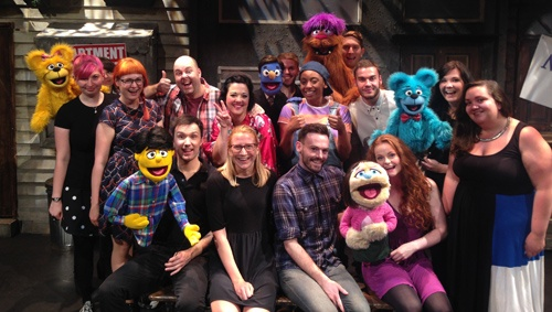 Puppets in theatre Avenue Q - ATG blog