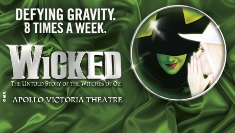 Wicked, West End Theatre Tickets - ATG Tickets
