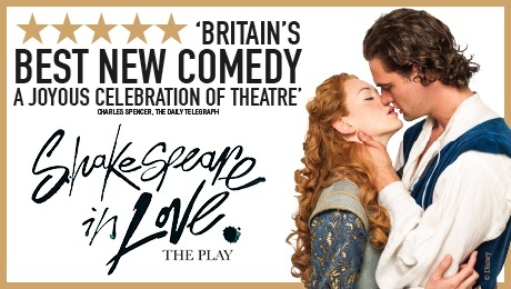 Shakespeare in Love, West End Theatre Tickets - ATG Tickets