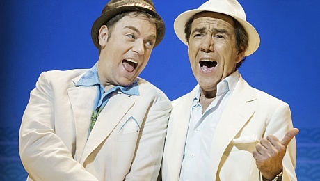 Robert Lindsay & Rufus Hound in Dirty Rotten Scoundrels - ATG Tickets