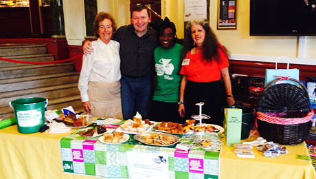 New Wimbledon Theatre hosted extremely successful coffee morning!