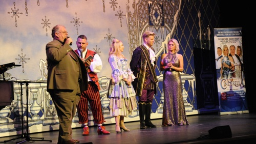 Cast of 2014 pantomime Cinderella at Aylesbury Waterside - ATG Blog