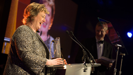 Rosemary Squire OBE named Entrepreneur of the Year 2014