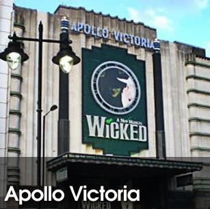 Apollo Victoria Theatre - London Theatre Tickets - ATG Tickets