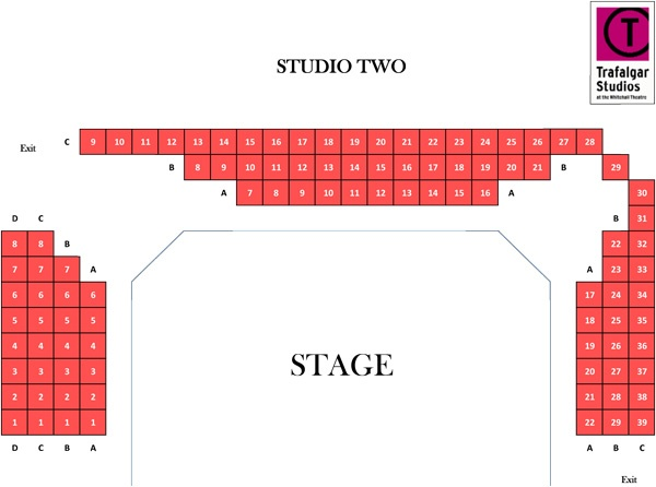 Trafalgar Studios Donkey Heart seating plan