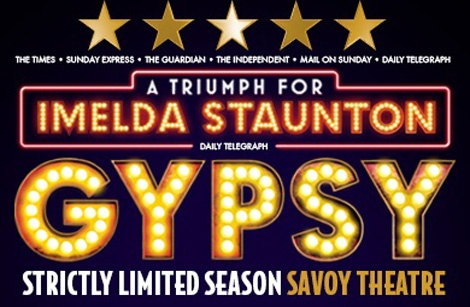 Gypsy - Savoy theatre - ATG Tickets
