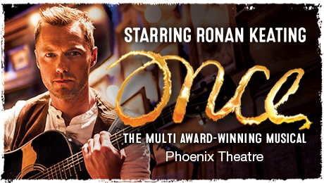 Once - Starring Ronan Keating - ATG Tickets Blog