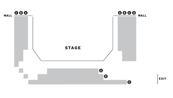 Trafalgar Studios The Father seating plan