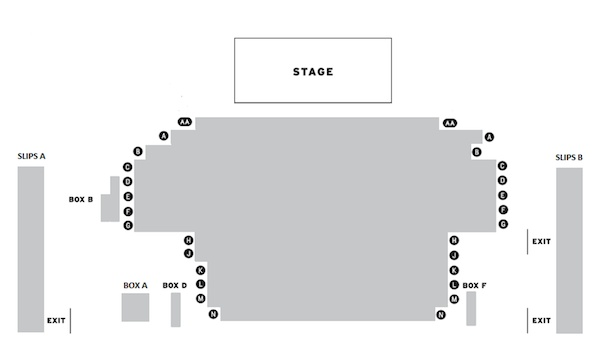 Trafalgar Studios The Ruling Class seating plan