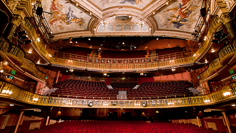 New wimbledon theatre backstage tours atg tickets for What s playing at the terrace theater