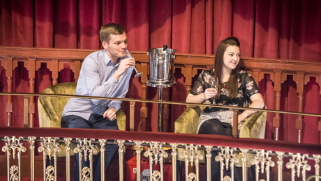 New Wimbledon Theatre unveil brand new seating and Stalls Bar