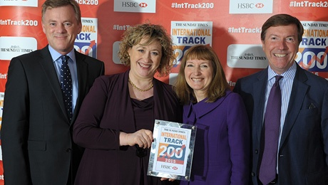 ATG Honoured at Sunday Times HSBC International Track 200 - ATG News