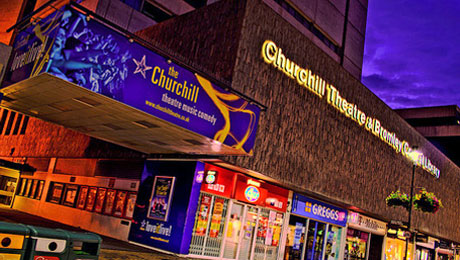Churchill Theatre restaurant guide