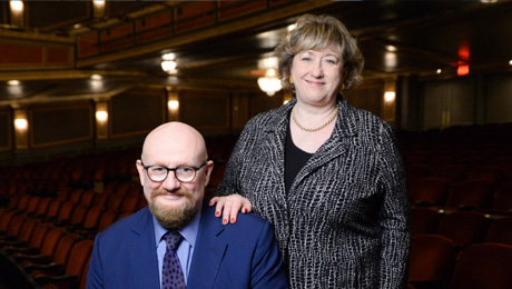 ATG's Sir Howard Panter and Rosemary Squire OBE top The Stage 100 for the record-breaking seventh consecutive year
