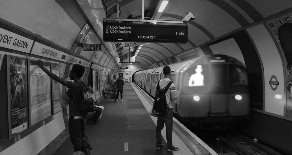 Covent Garden Underground Station - Ghosts of London - ATG Tickets
