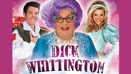 Dame Edna Everage in Dick Whittington at the New Wimbledon