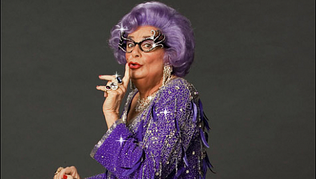 sc 1 st  ATG Tickets & Dame Edna Everage Tickets - Fancy Dress Costume Staru0027s Biography - ATG