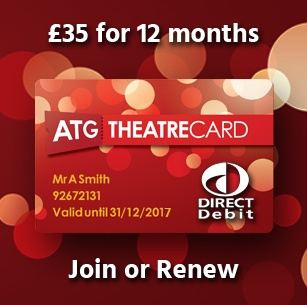 ATG Theatre Card - Direct Debit