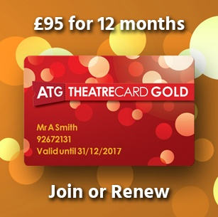 ATG Theatre Card Gold