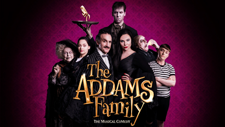 Tour poster Addams
