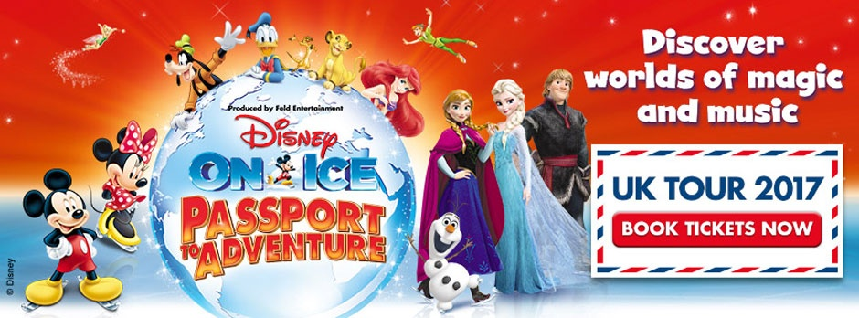 Disney On Ice Passport To Adventure 2017
