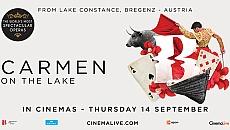 Carmen on Lake Bregenz
