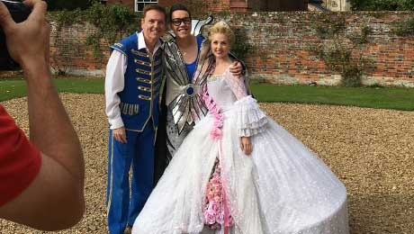 Magic in the making - Behind the scenes of the Cinderella press launch