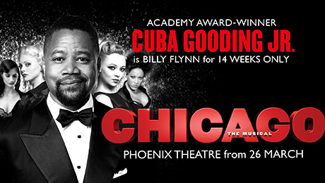 Full Cast Announced for Chicago at the Phoenix Theatre London Opening 11 April 2018