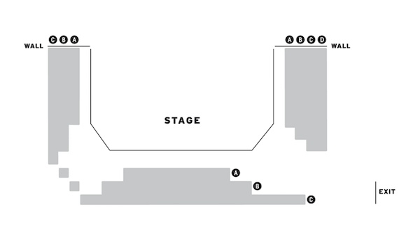 Trafalgar Studios 3Women seating plan